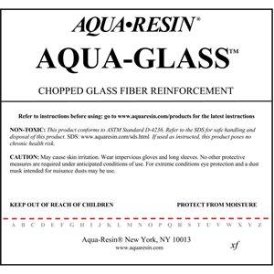 """Aqua-Glass - 3½"""" - 1"""""""