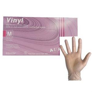 Gants de Vinyle jetables